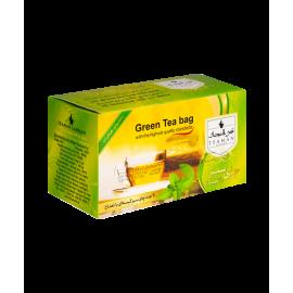 پک ۴ عددی چای سبز کیسه ای در ۴ طعم