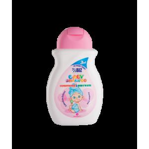 شامپو سر و بدن بچه حاوی مواد نرم کننده..